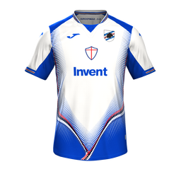 Sampdoria Away MiniKit Kits Sampdoria 2019 2020