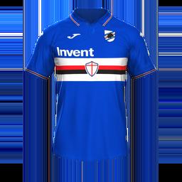Sampdoria Home MiniKit Kits Sampdoria 2019 2020