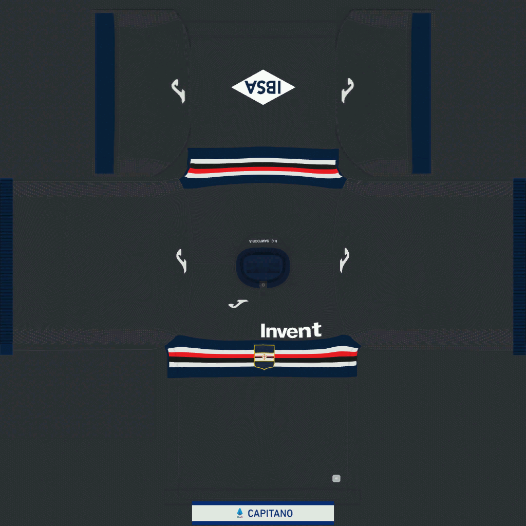 Sampdoria Third Kit Kits Sampdoria 2019 2020