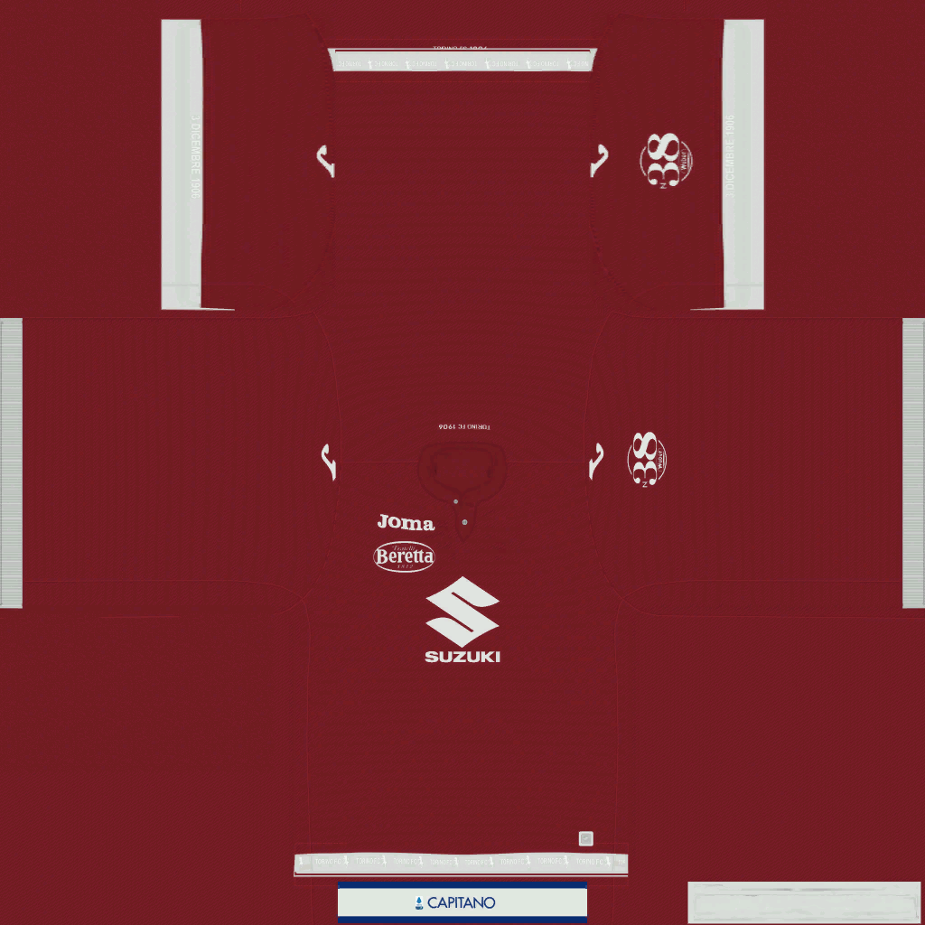 Torino Home Kit Kits Torino 2019 2020