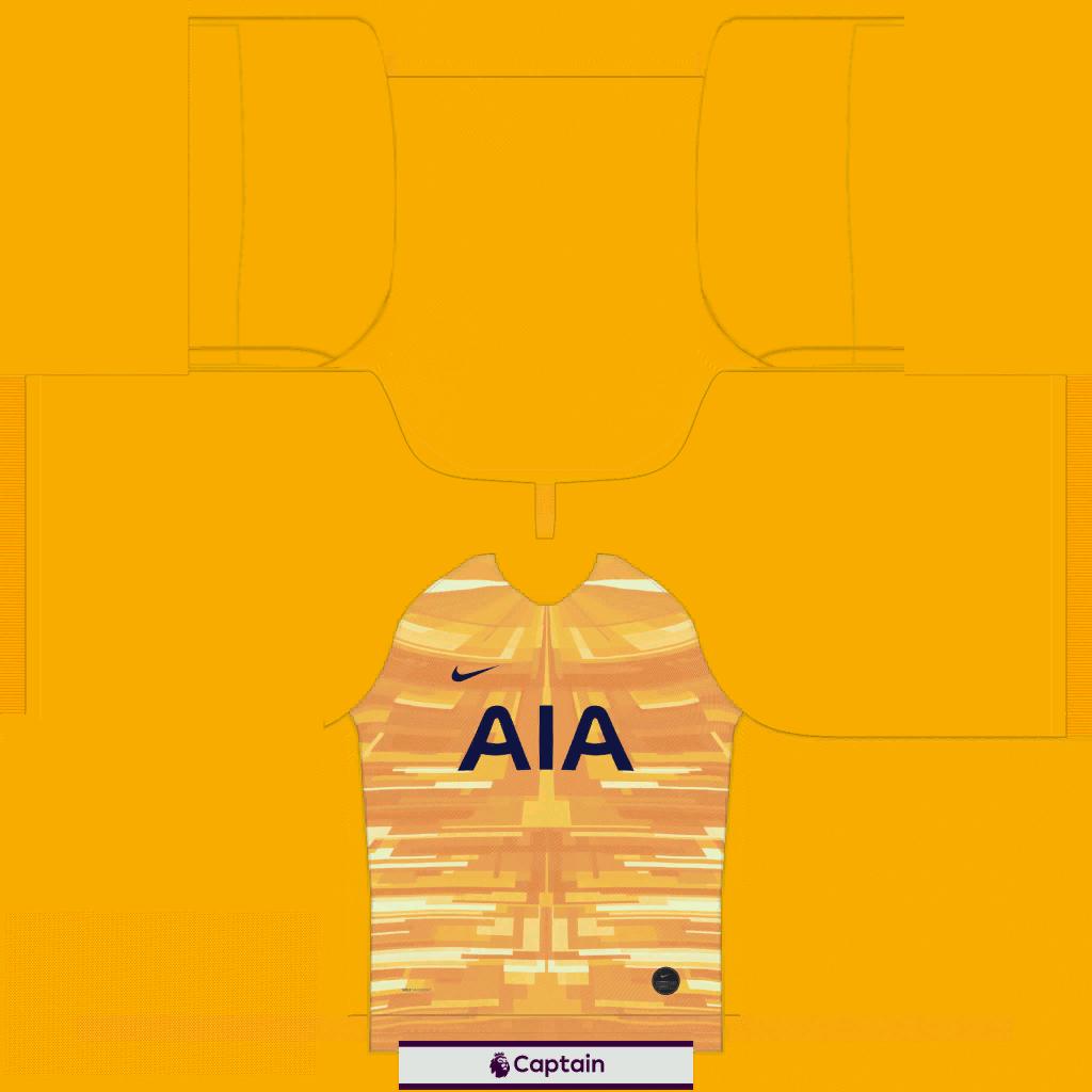 Tottenham GK Home Kit Kits Tottenham 2019 2020 RX3 Added