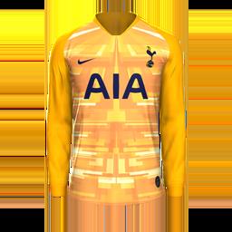 Tottenham GK Home MiniKit Kits Tottenham 2019 2020 RX3 Added