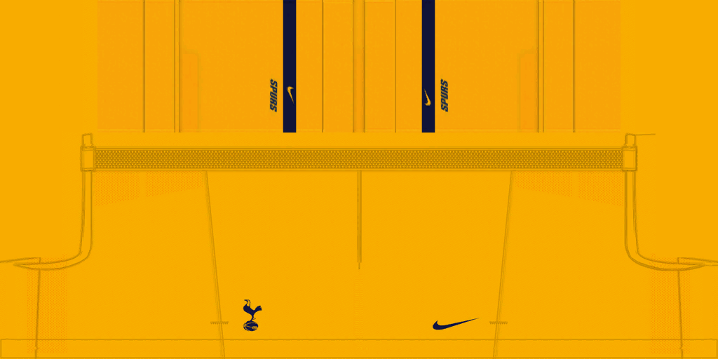 Tottenham GK Home Shorts Kits Tottenham 2019 2020 RX3 Added