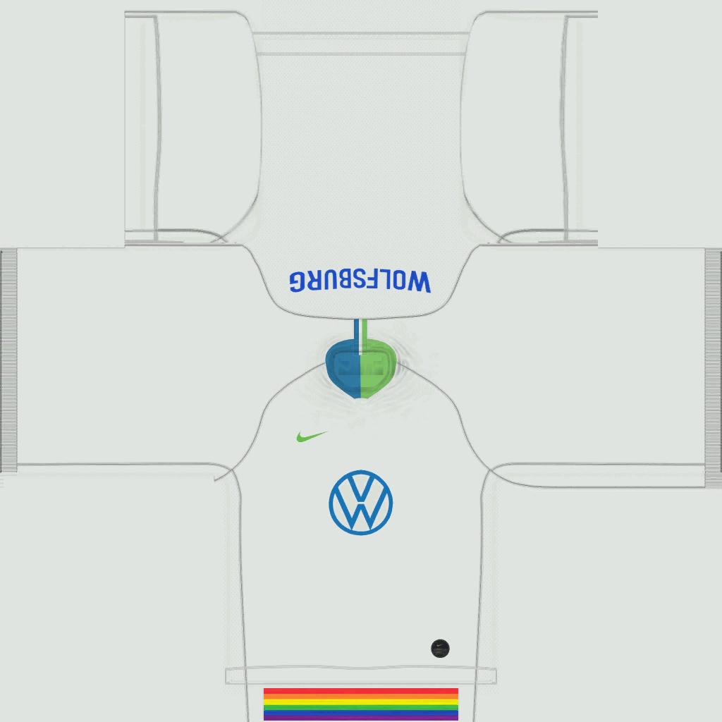VfL Wolfsburg Third Kits Kits 8211 Wolfsburg 8211 19 20