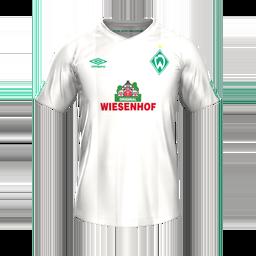 Werder Bremen Away MiniKits Kits 8211 Werder Bremen 8211 19 20