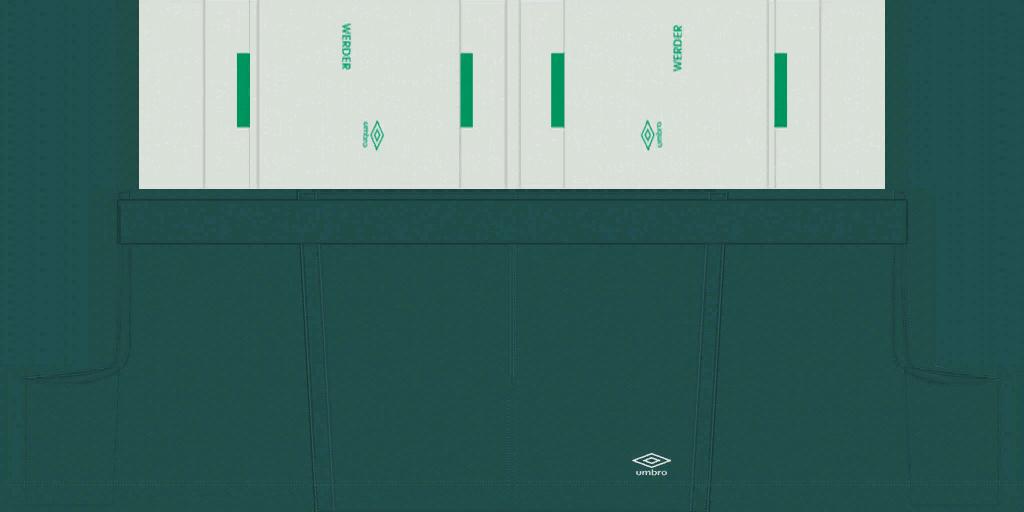 Werder Bremen Away Shorts Kits 8211 Werder Bremen 8211 19 20