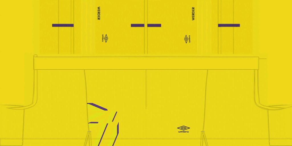 Werder Bremen GK Shorts Kits 8211 Werder Bremen 8211 19 20