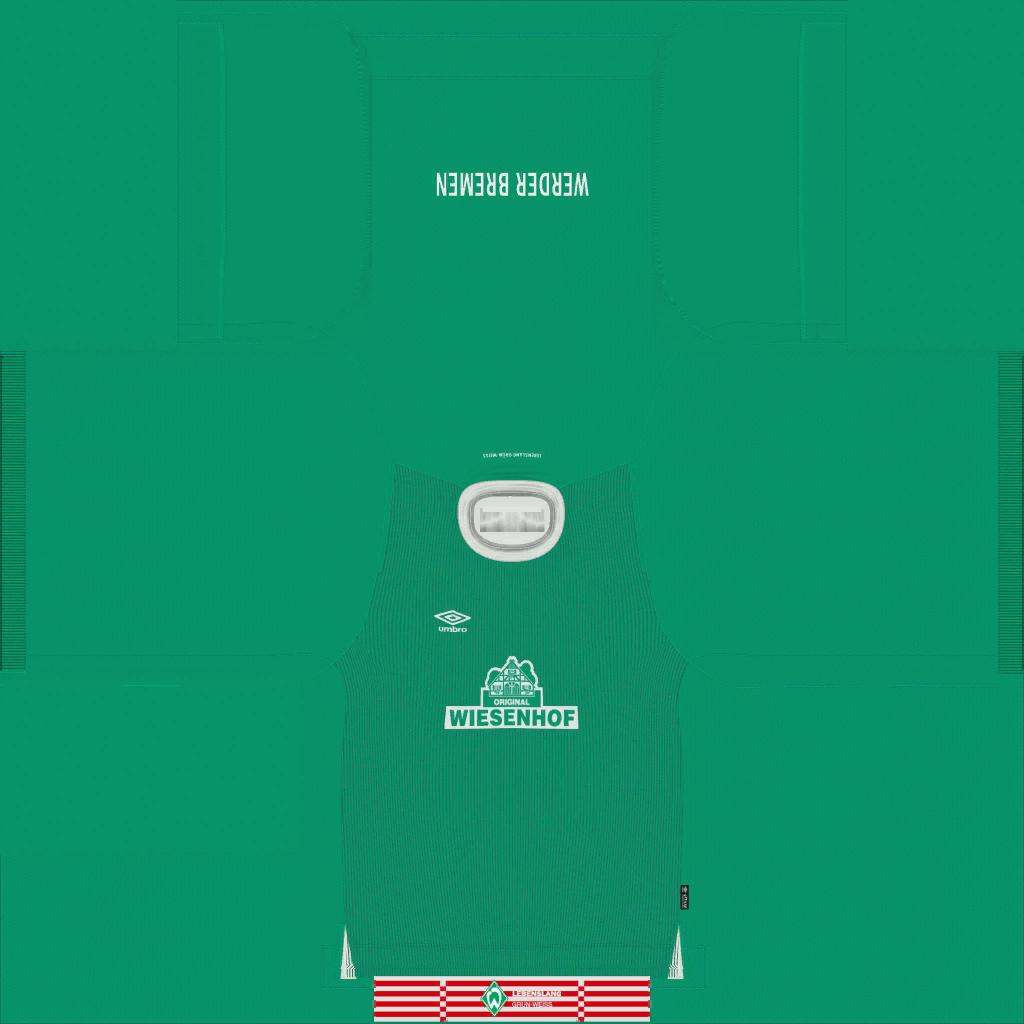 Werder Bremen Home Kits Kits 8211 Werder Bremen 8211 19 20