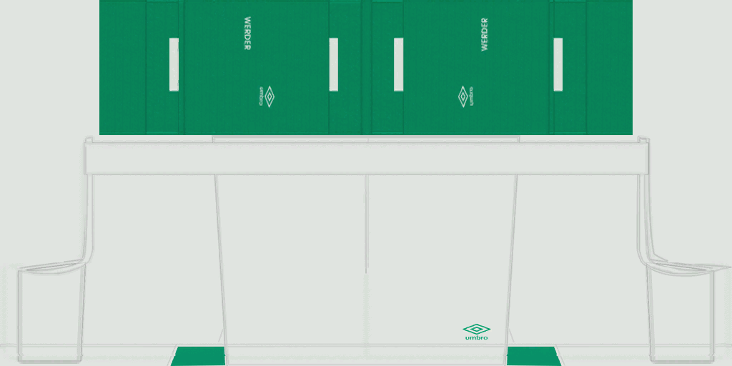 Werder Bremen Home Shorts Kits 8211 Werder Bremen 8211 19 20