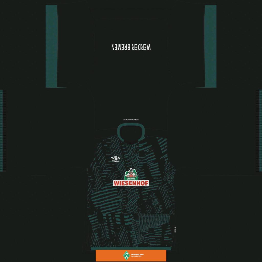 Werder Bremen Third Kits Kits 8211 Werder Bremen 8211 19 20