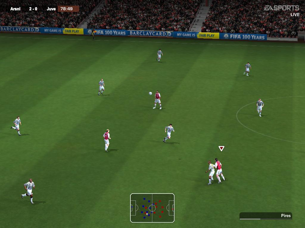 FIFA 2004 In-Game
