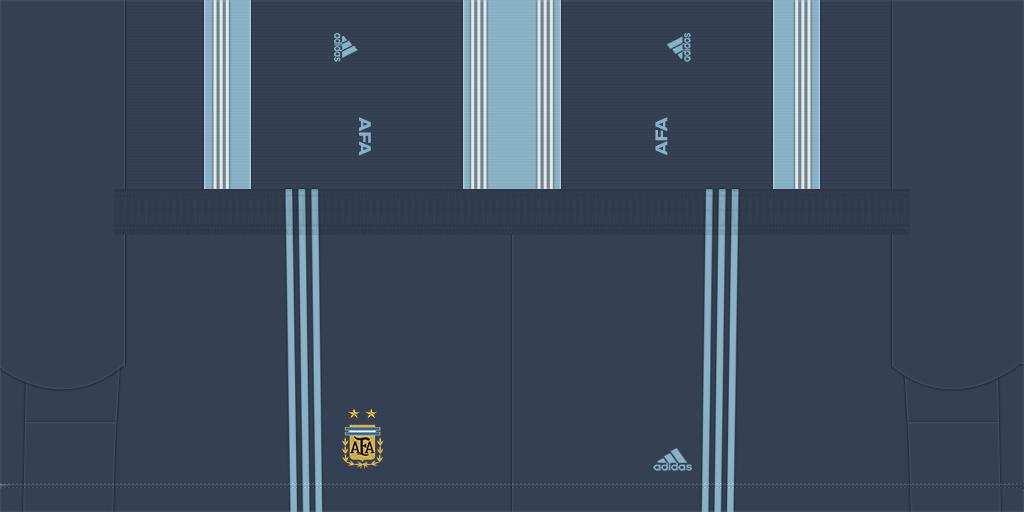 Argentina Away Shorts Kits 8211 Argentina National Team 8211 2020