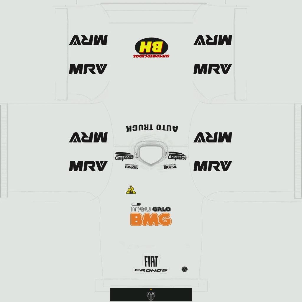 Atl Tico Mineiro Away Kits Kits 8211 Atl Tico Mineiro 8211 19 20