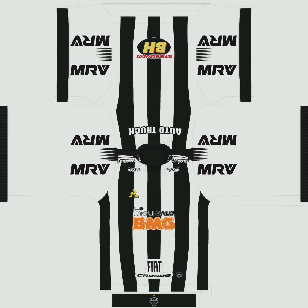 Atl Tico Mineiro Home Kits Kits 8211 Atl Tico Mineiro 8211 19 20