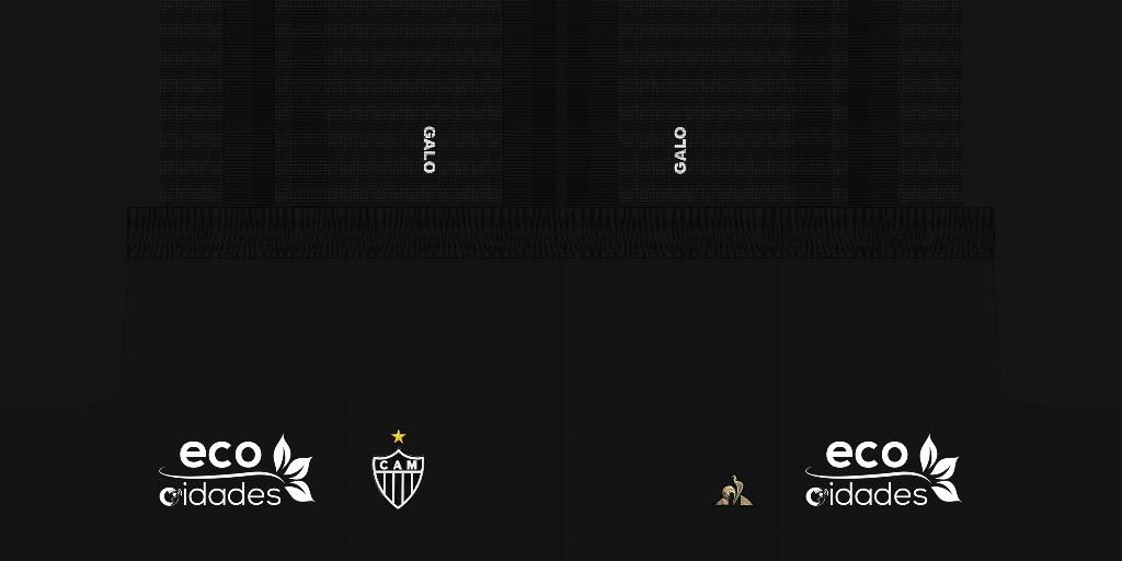 Atl C3 A9tico Mineiro Third Shorts Kits 8211 Atl Tico Mineiro 8211 19 20