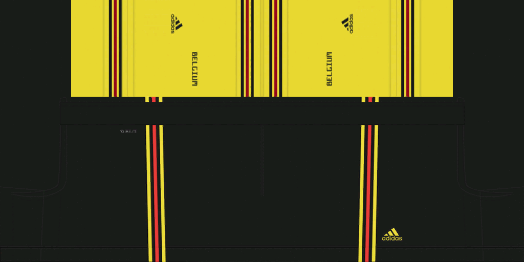 Belgium Away Shorts Kits 8211 Belgium National Team 8211 Euro 2020