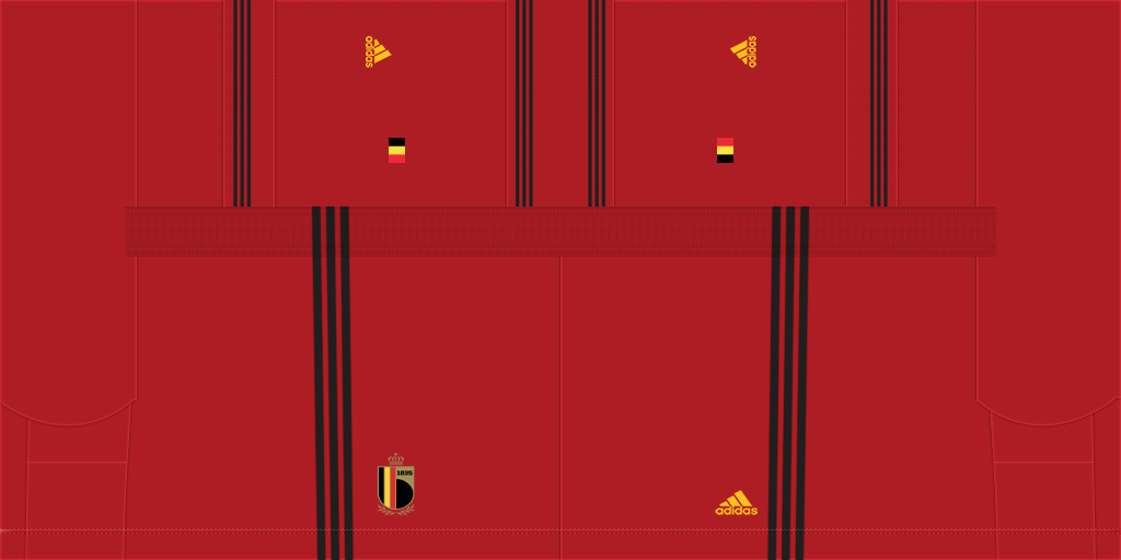 Belgium Home Shorts Kits 8211 Belgium National Team 8211 Euro 2020