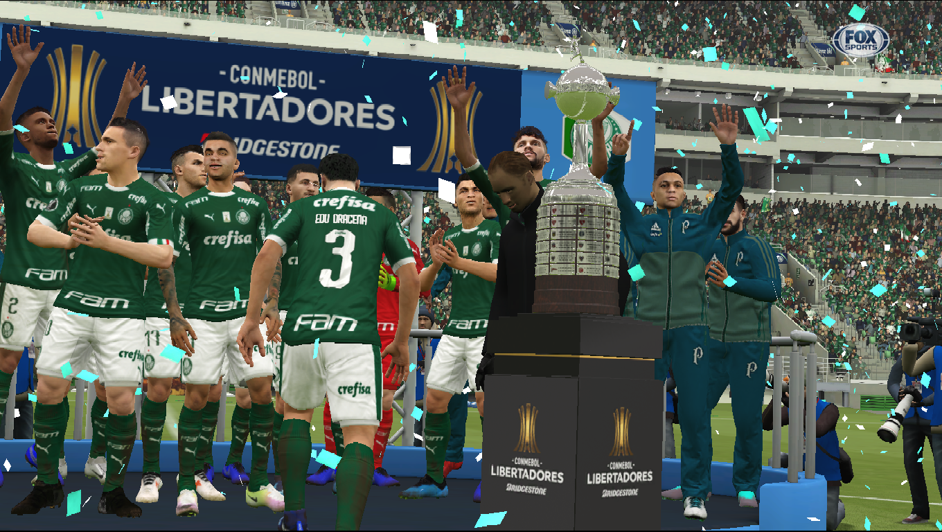 CONMEBOL Copa Libertadores Trophies 8211 3D Pack In RX3 Version