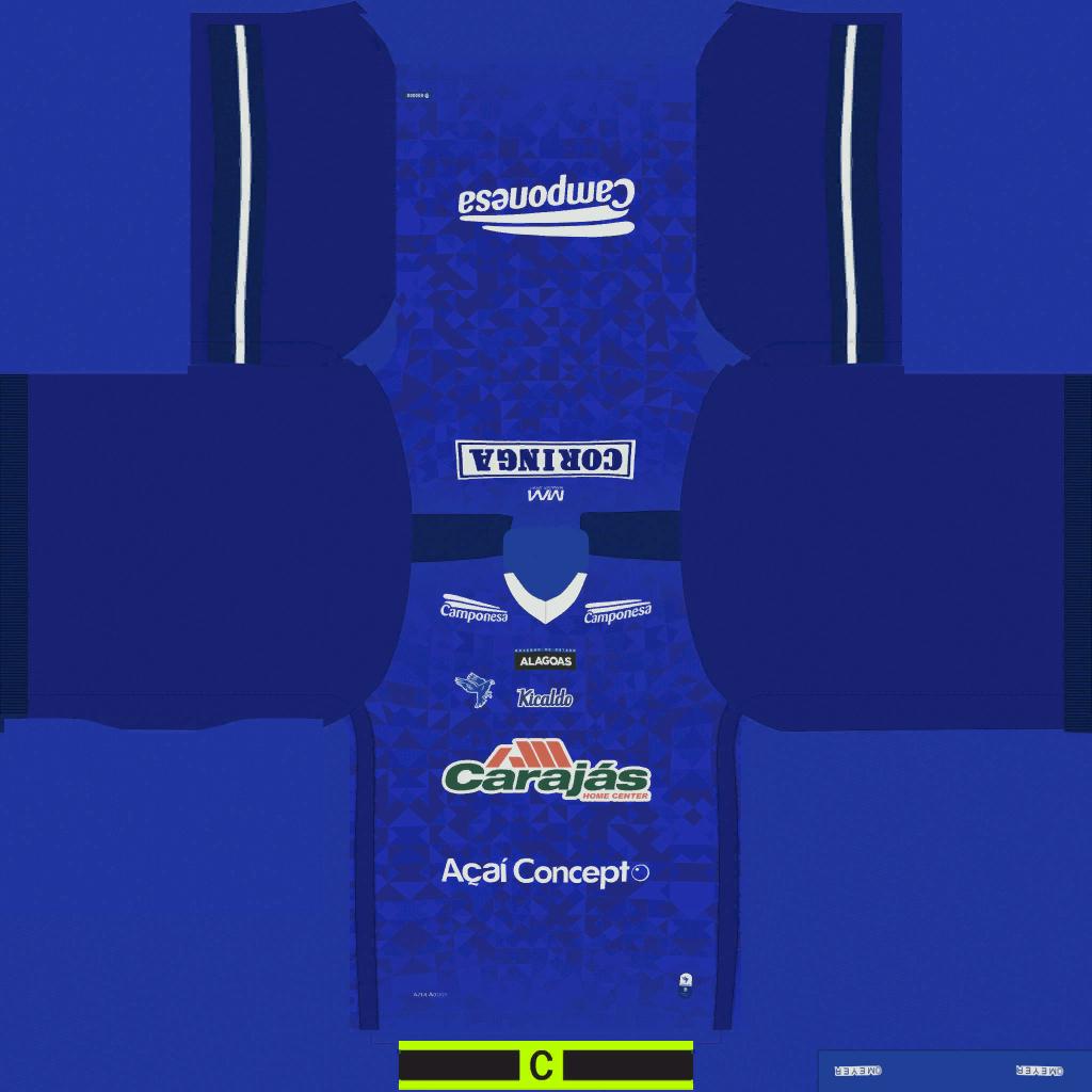 CSA AL Away Kits Kits 8211 CSA Alagoano 8211 19 20