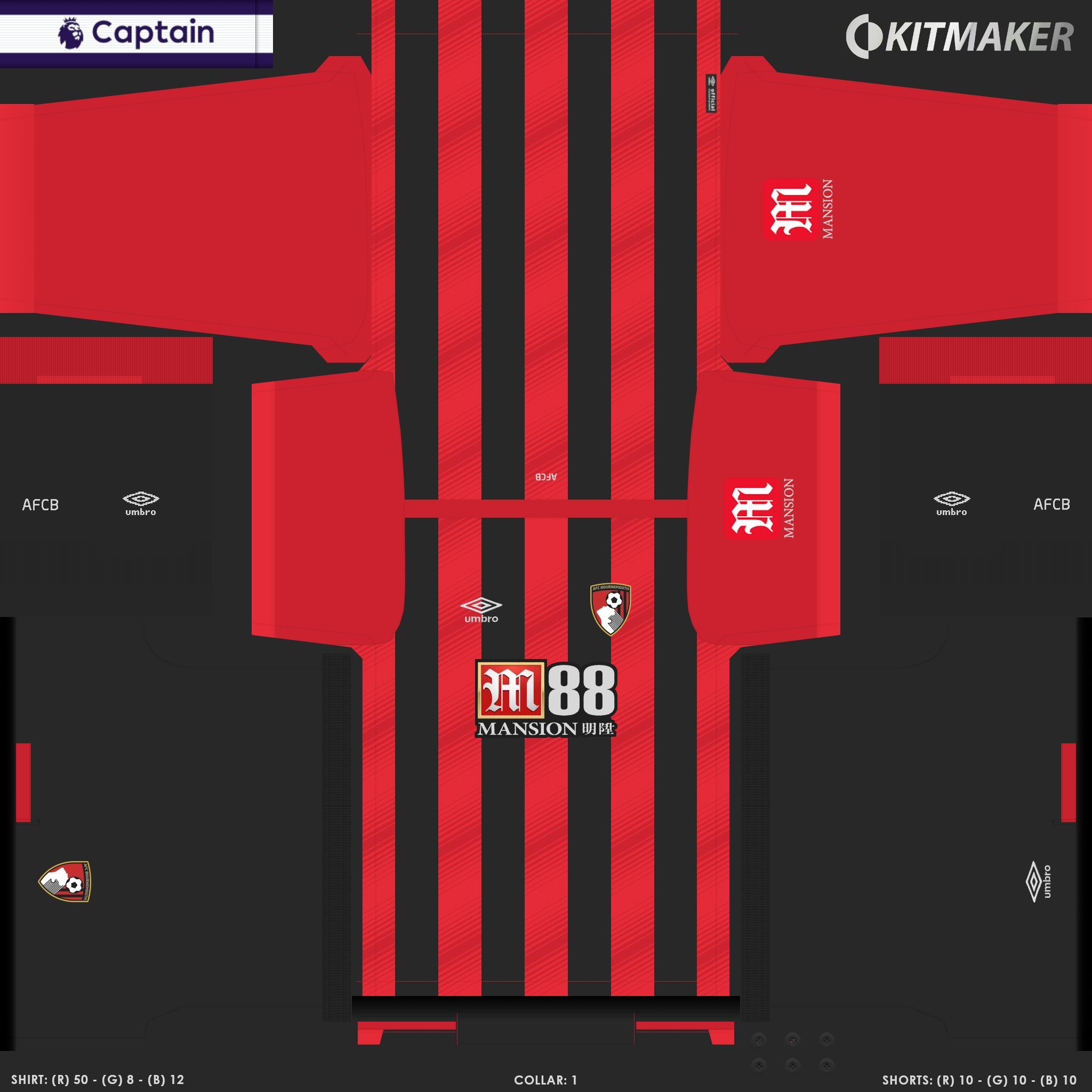 ENG 1 BOU 1 PES Premier League Kits Pack 2019 2020