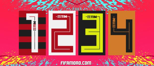 Flamengo Adidas Kit Numbers 2019 Kits 8211 Flamengo 8211 2019 2020
