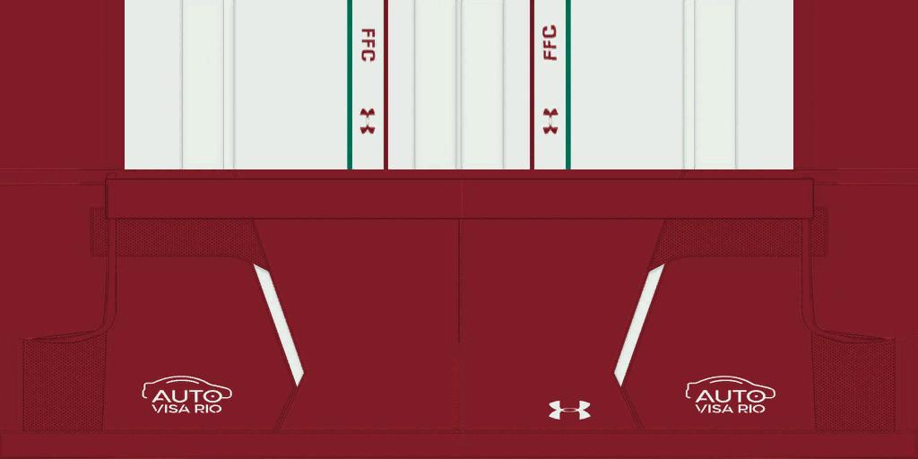 Fluminense Away Shorts Kits 8211 Fluminense 8211 19 20