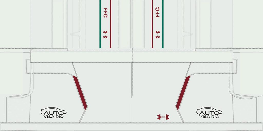 Fluminense Home Shorts 1 Kits 8211 Fluminense 8211 19 20