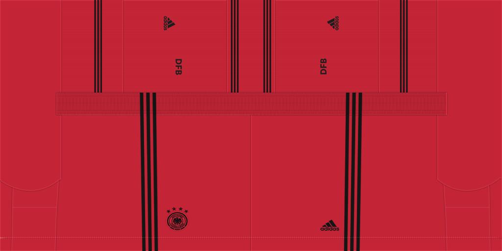 Germany GK Shorts Kits 8211 Germany National Team 8211 Euro 2020