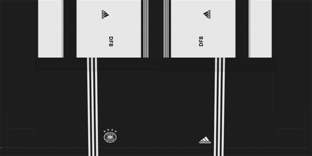 Germany Home Shorts Kits 8211 Germany National Team 8211 Euro 2020