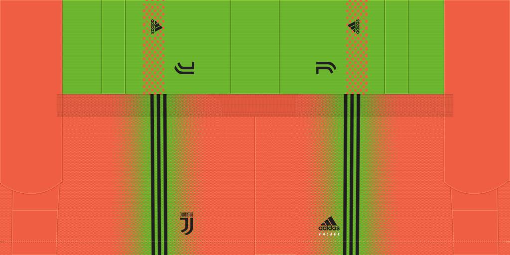 Juve X Palace GK Fourth Shorts Kits Juventus 2019 2020 New Kit Added