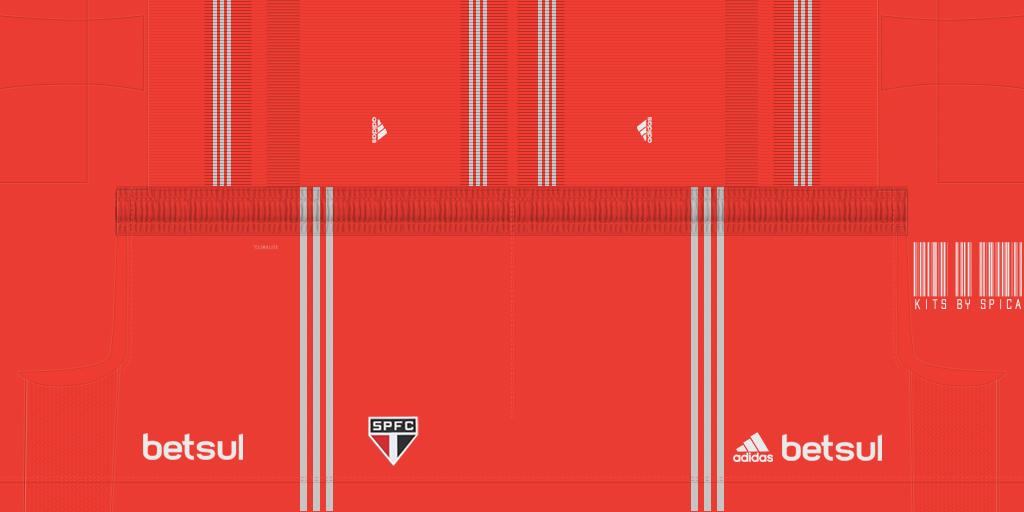 Sao Paulo GK Away Shorts Kits 8211 S O Paulo 8211 19 20