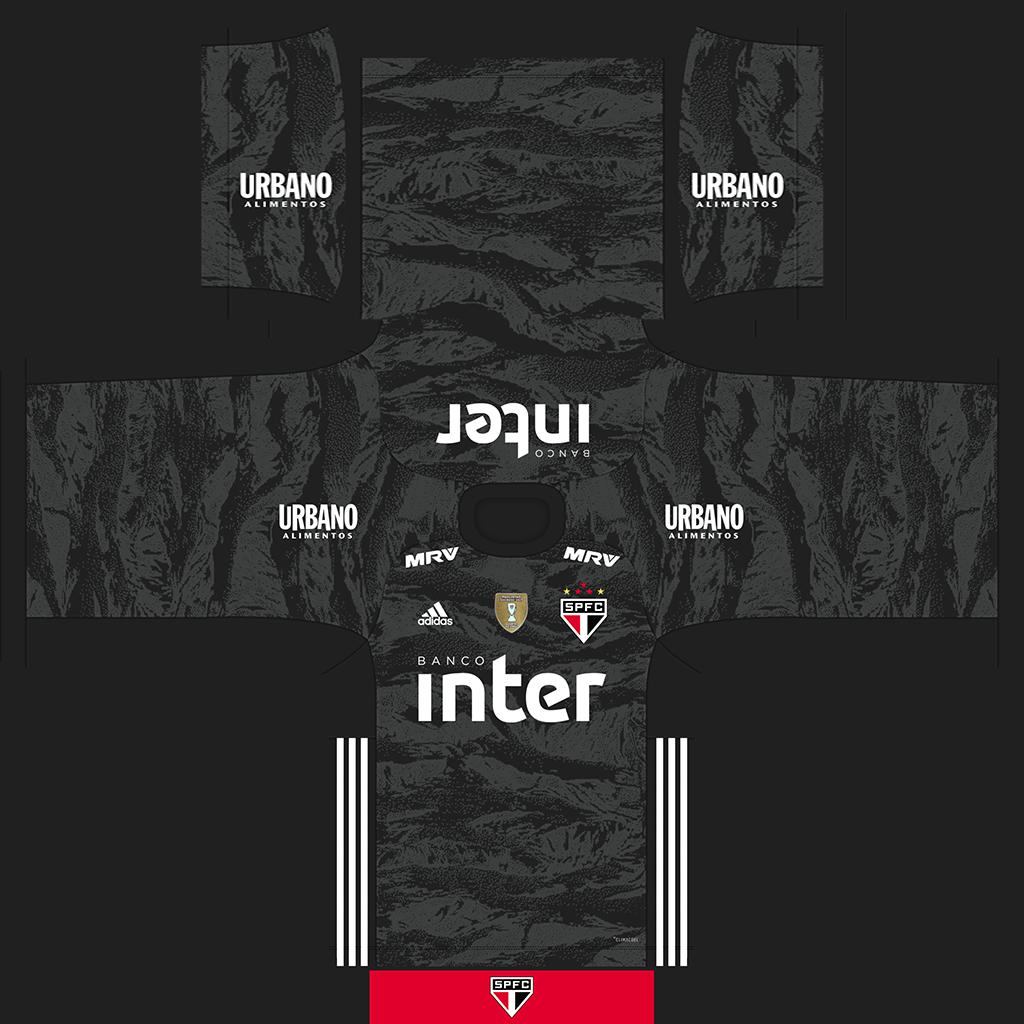 Sao Paulo GK Third Kits Kits 8211 S O Paulo 8211 19 20