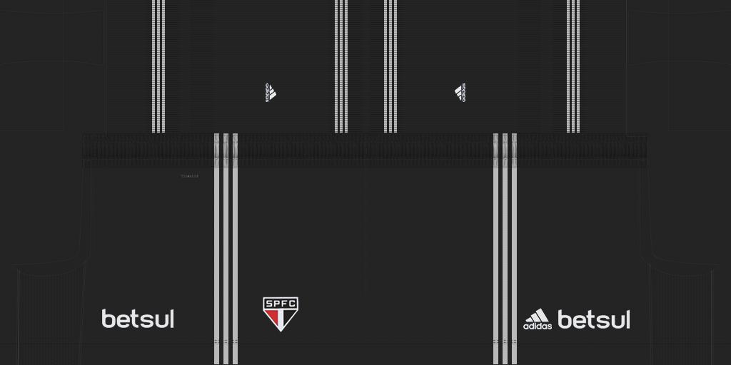 Sao Paulo GK Third Shorts Kits 8211 S O Paulo 8211 19 20