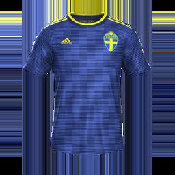 Sweden Away MiniKits Kits 8211 Sweden National Team 8211 Euro 2020