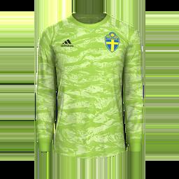 Sweden GK Away MiniKits Kits 8211 Sweden National Team 8211 Euro 2020