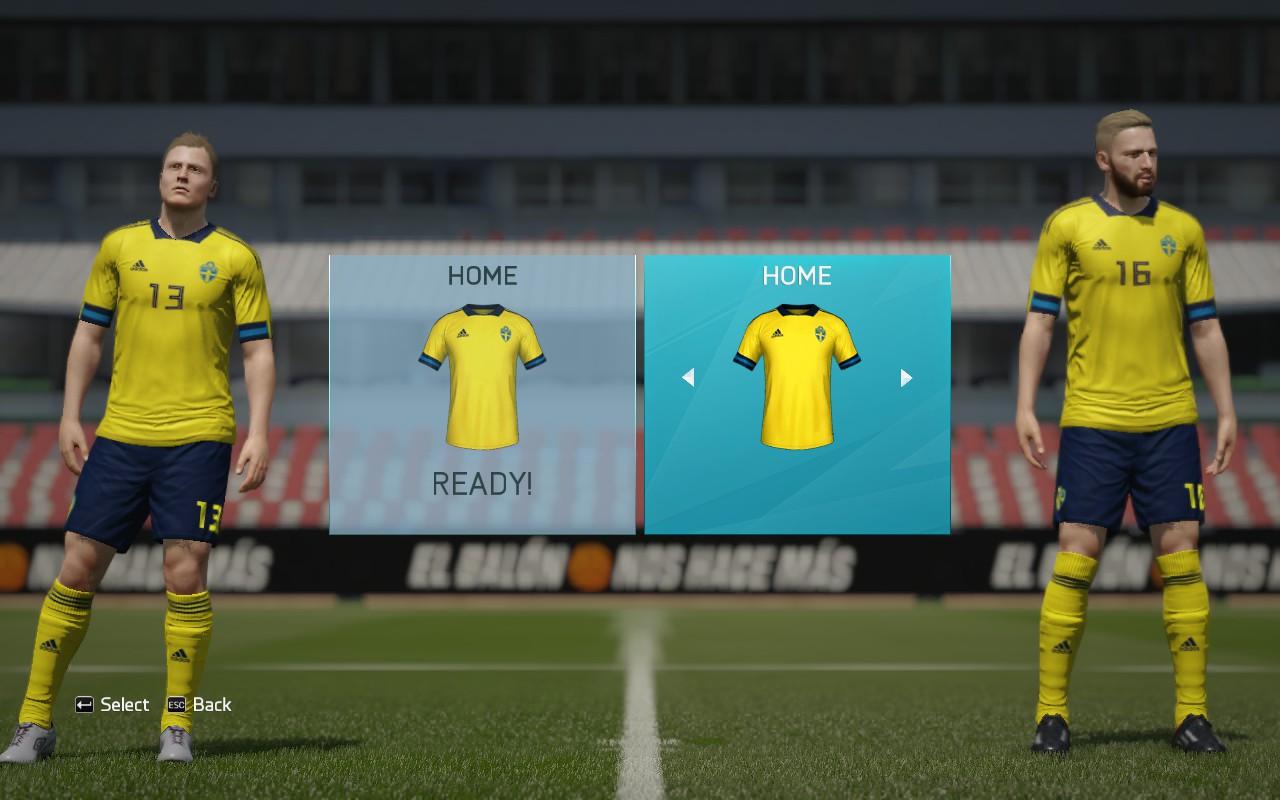 Sweden New Kits For Euro 2020 1 Kits 8211 Sweden National Team 8211 Euro 2020
