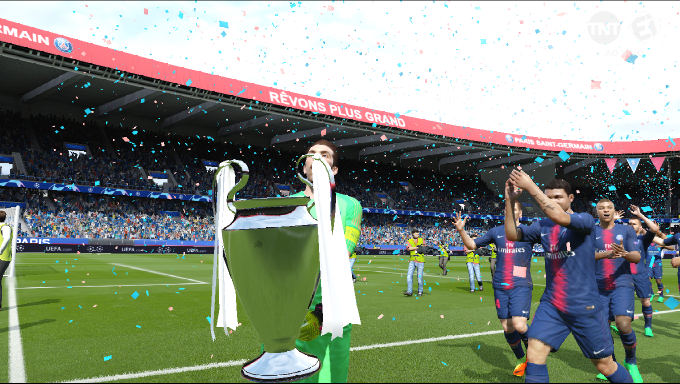 UEFA Champions League Trophies 8211 3D Pack In RX3 Version