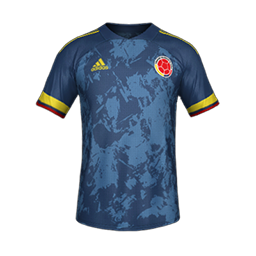 Colombia Away MiniKits Kits 8211 Colombia National Team 8211 2020