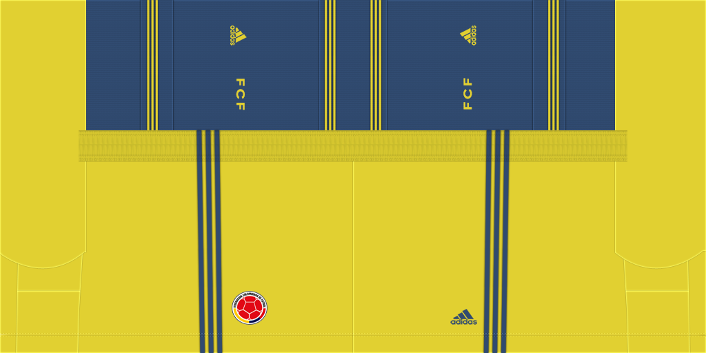 Colombia Away Shorts Kits 8211 Colombia National Team 8211 2020