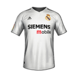 Real Madrid MiniKits 2004 2005 Kits 8211 Real Madrid 8211 2004 05