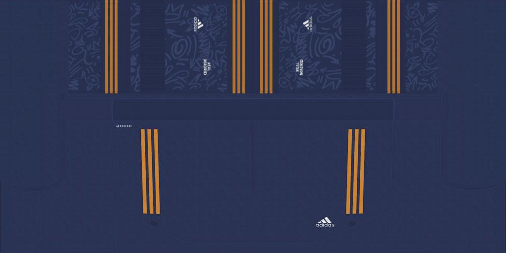 Real Madrid Away Short Kits 8211 Real Madrid 8211 2021 22